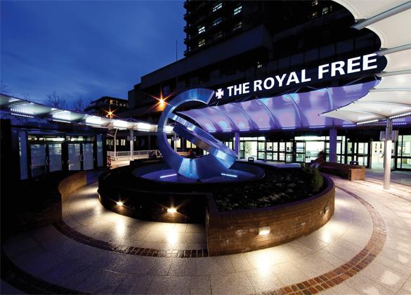 Vertu Medical The Royal Free Hospital